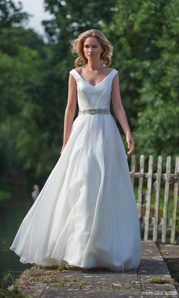 Belt Wedding Dress 43 Fresh stephanie allin bridal charlotte