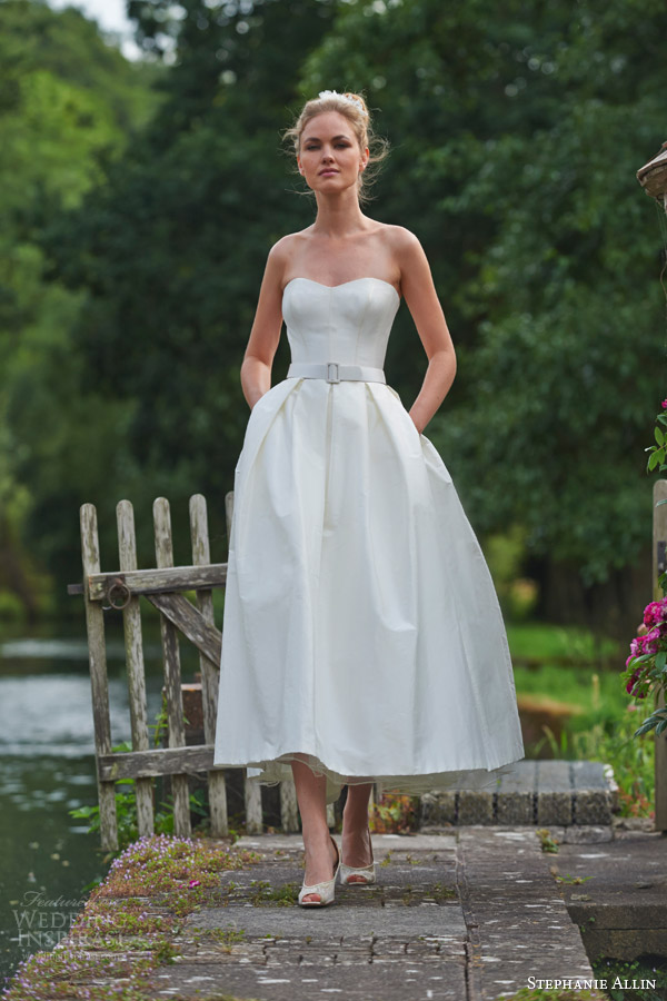 Stephanie Allin Couture 2016 Wedding Dresses - BridalPulse