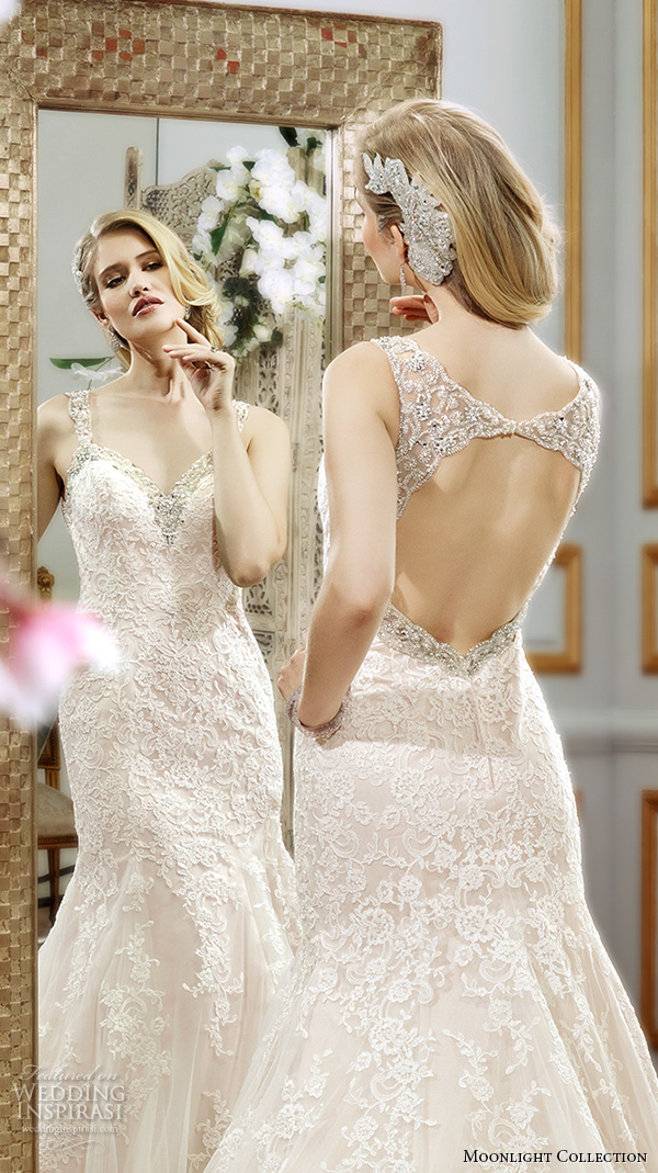 Lace Up Back Wedding Dress 88 Spectacular Moonlight collection spring wedding