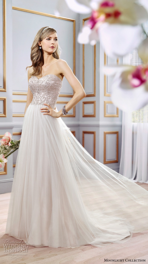 Modified Mermaid Wedding Dress 70 Nice Moonlight collection spring wedding