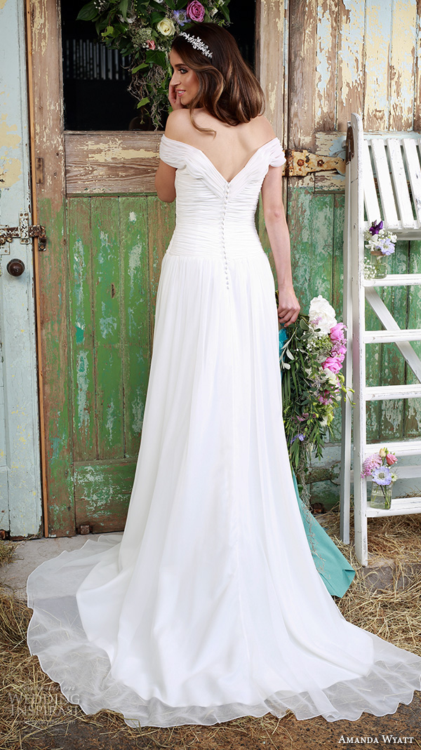Belt Wedding Dress 63 Unique amanda wyatt bridal dresses