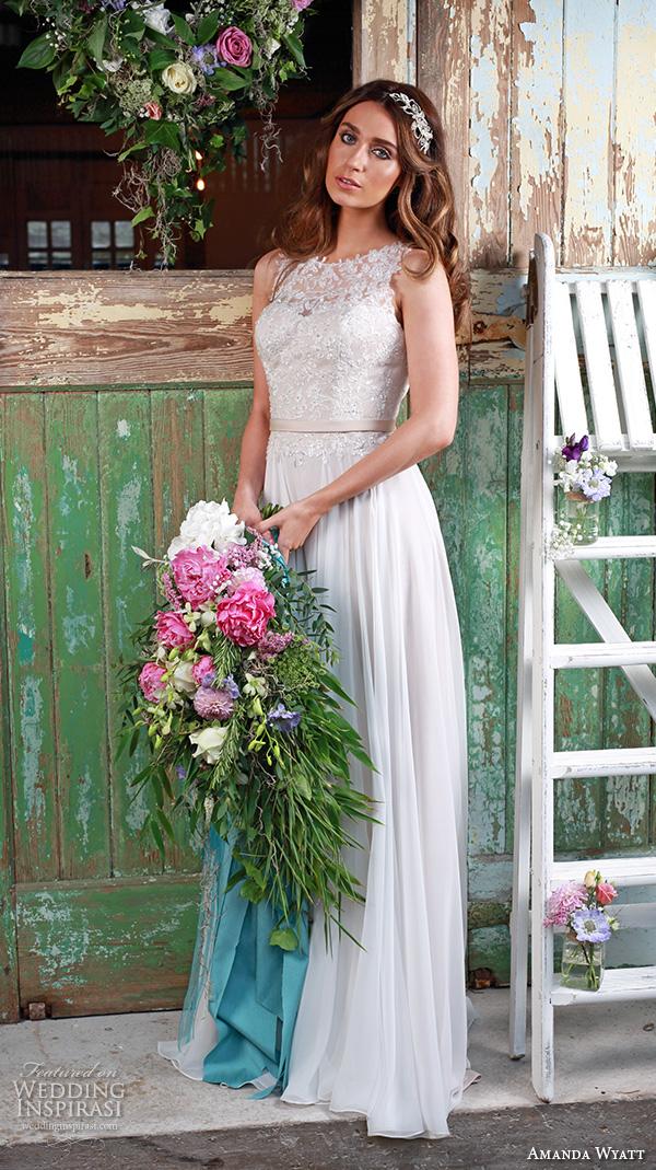 Floaty Wedding Dresses 31 Trend amanda wyatt bridal dresses