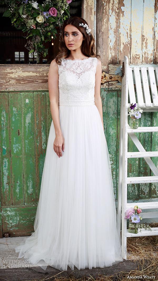 Wedding Dresses Modified A Line : Wyatt bridal dresses beautiful modified a line wedding dress