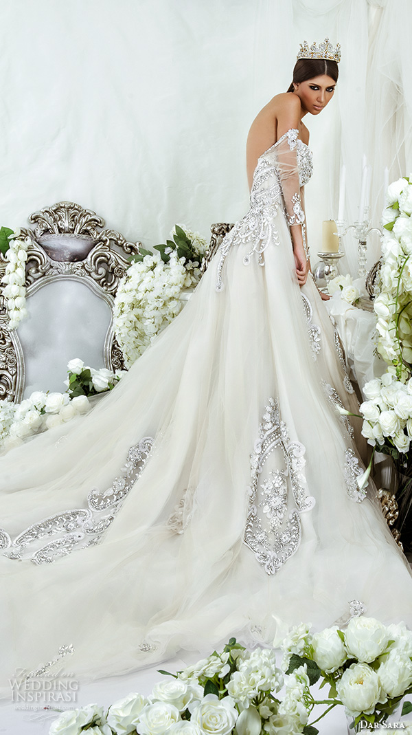 dar sara 2016 wedding dresses wedding inspirasi