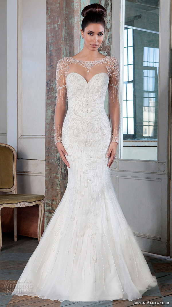 Justin Alexander Signature Spring 2016 Wedding Dresses ...