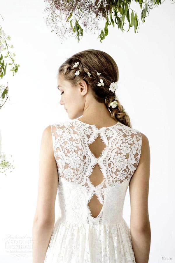 kisui 2016 oui bridal collection maree sleeveless wedding dress trio scalloped keyhole