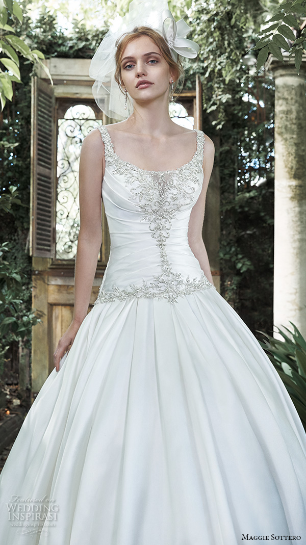 Maggie Sottero Blush Wedding Dress 17 Vintage maggie sottero fall wedding