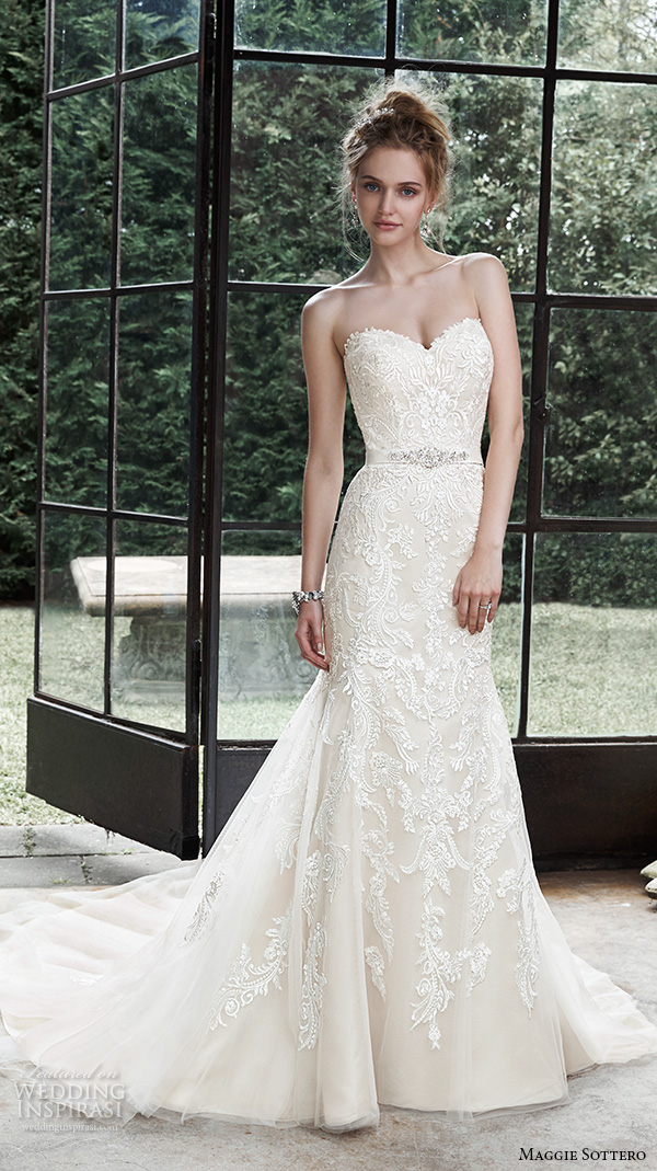 Top 100 Most Popular Wedding Dresses in 2015 Part 2 — Sheath, Fit ...