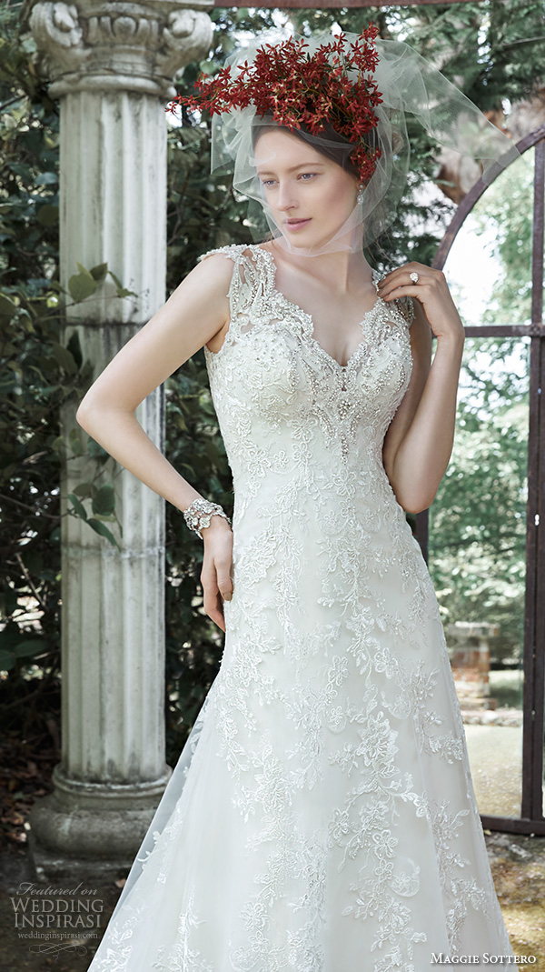 Maggie Sottero Lace Wedding Dress 82