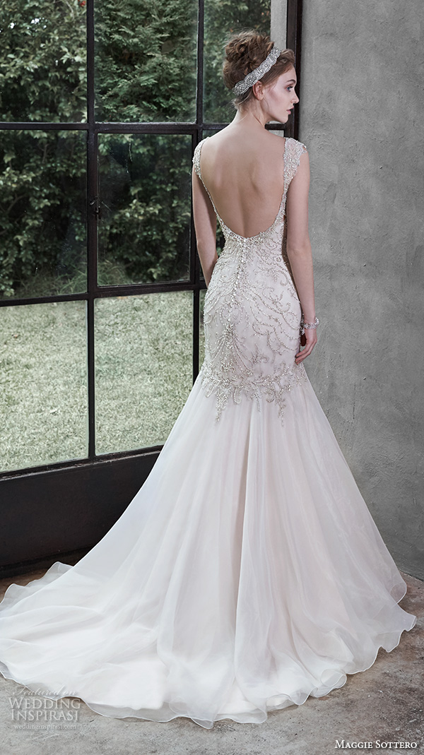 Trumpet Sweetheart Wedding Dress