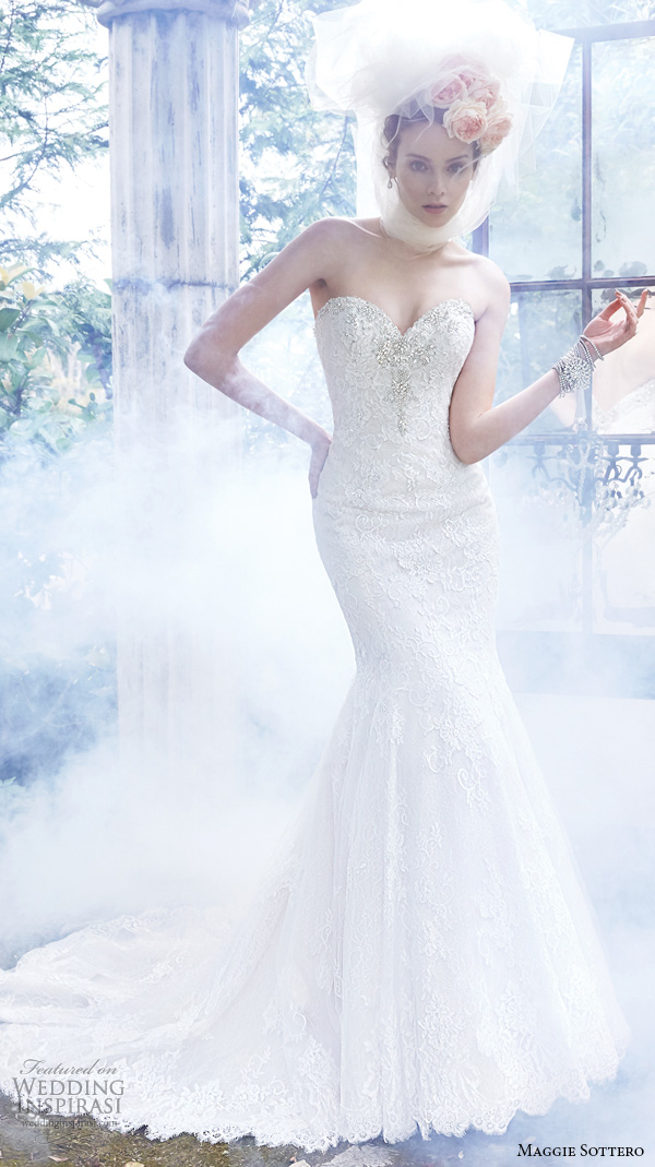 Maggie Sottero Lace Wedding Gowns 62 Fabulous maggie sottero fall wedding