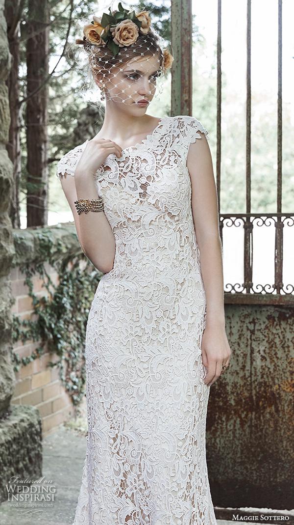 Maggie sottero fall 2015 wedding dresses wedding inspirasi for Dresses for silver wedding anniversary