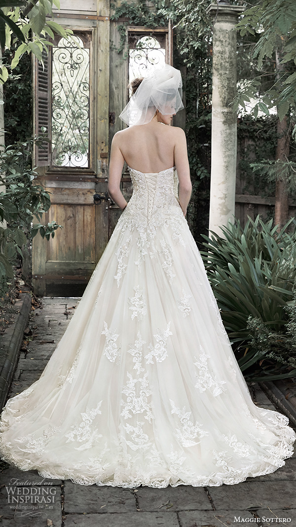 Maggie Sottero Fall 2015 Wedding Dresses Wedding Inspirasi