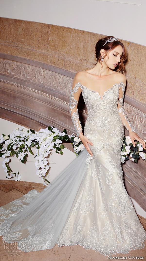 Modified Mermaid Wedding Dress 85 Best moonlight couture spring wedding