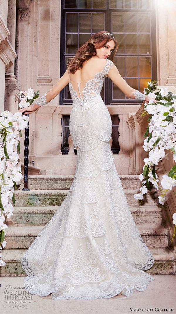 Mermaid Cut Wedding Dresses 29 Stunning moonlight couture spring wedding