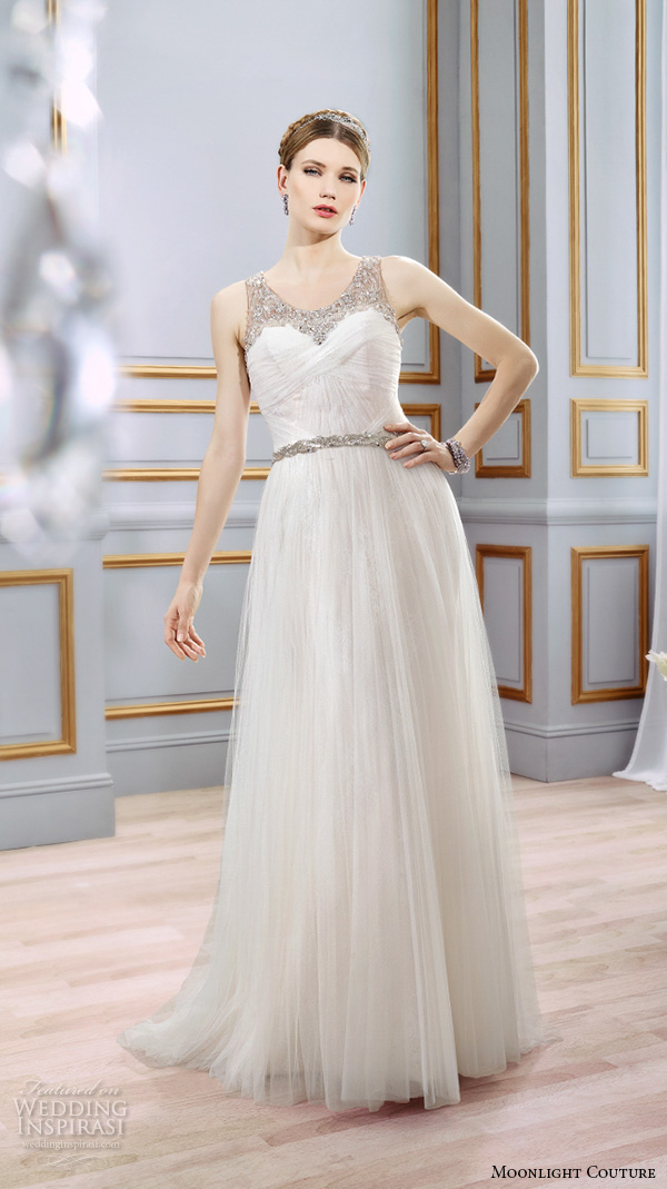 Modified Mermaid Wedding Dress 30 Inspirational moonlight couture spring wedding