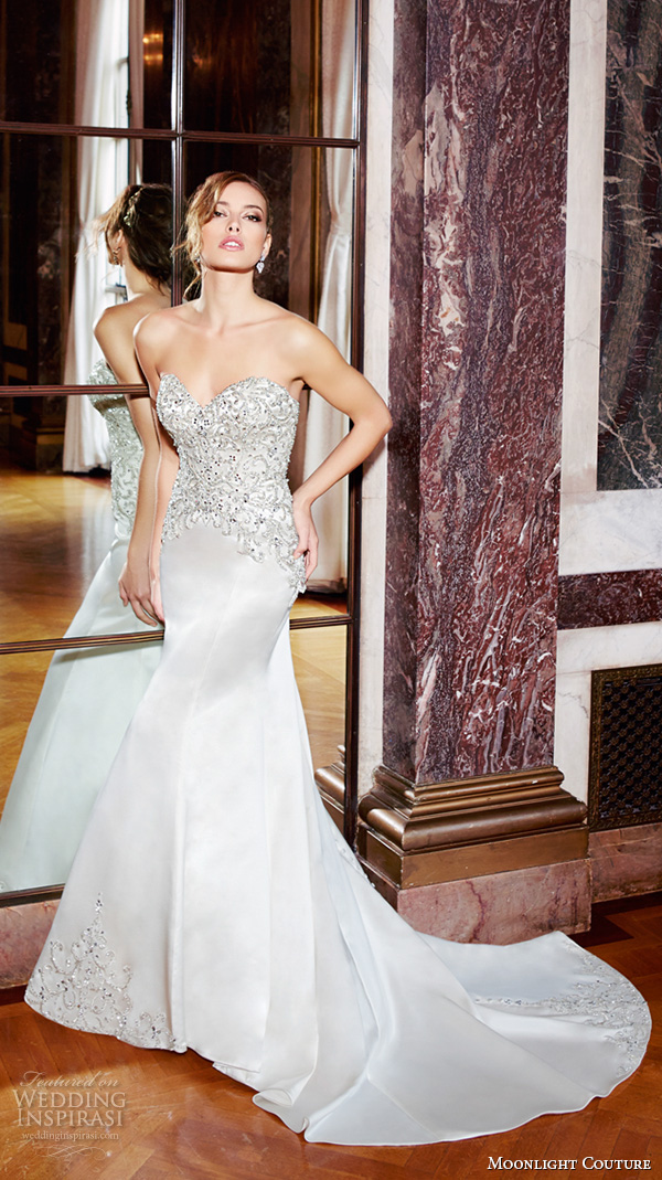 Wedding Dresses Mermaid Trumpet 85 Popular moonlight couture spring wedding