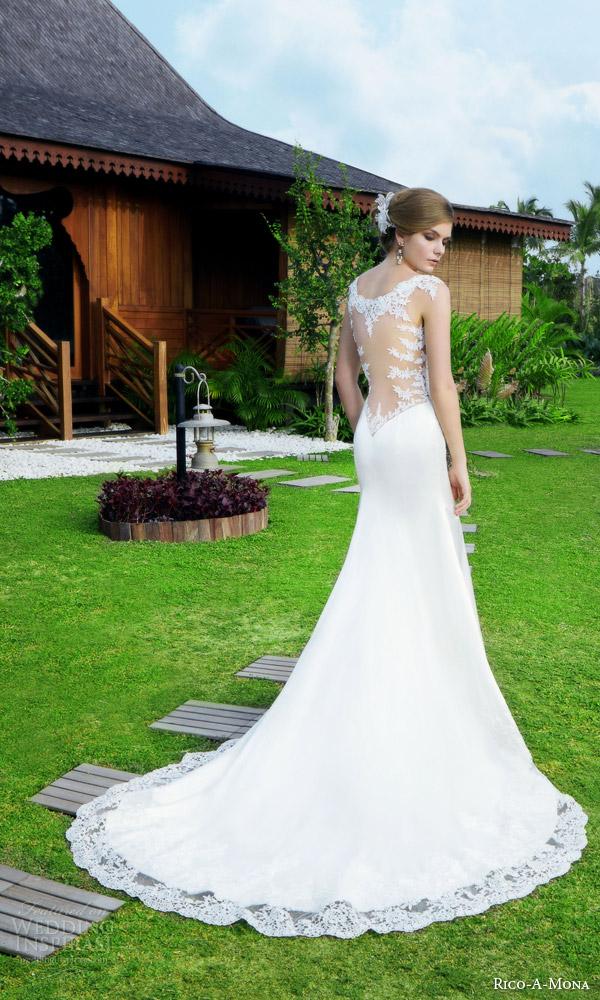 Drop Back Wedding Dress 52 Unique rico a mona resort