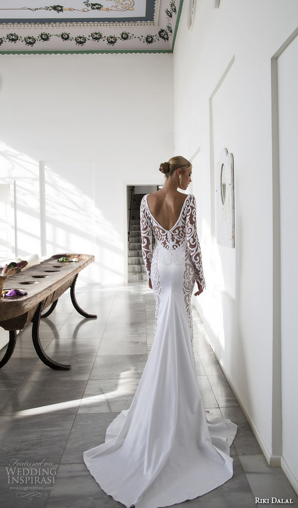 Wedding Gown With Lace Sleeves