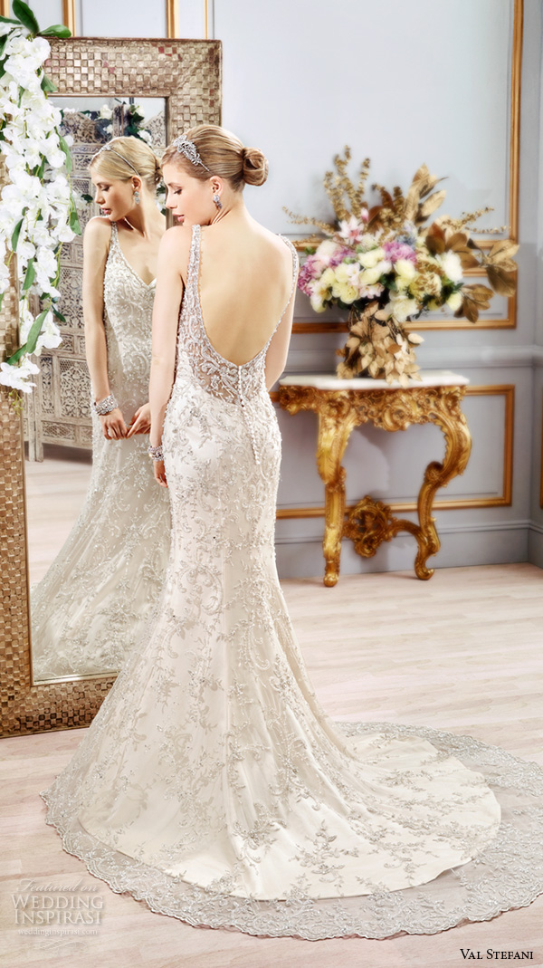 Wedding Dress With Beautiful Back 11 Amazing val stefani spring wedding