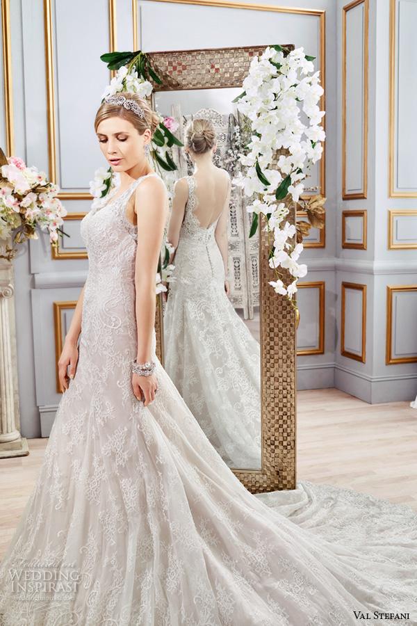 Designer Mermaid Style Wedding Dresses 20 Epic val stefani spring wedding