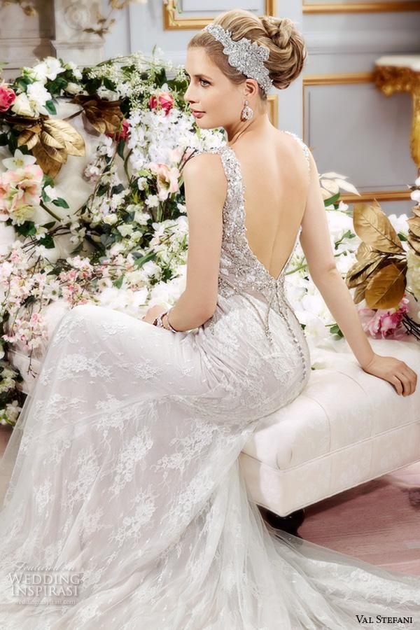 Sweetheart Trumpet Wedding Dresses 94 Spectacular val stefani spring wedding