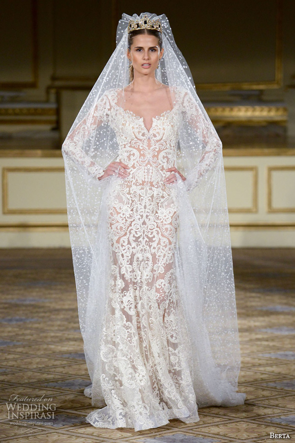 Berta Fall 2016 Wedding Dresses — New York Bridal Runway Show ...