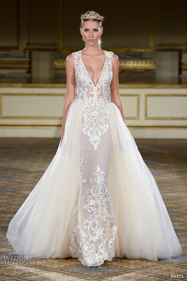 Berta fall 2016 wedding dresses new york bridal runway for Wedding dress boutiques in nyc