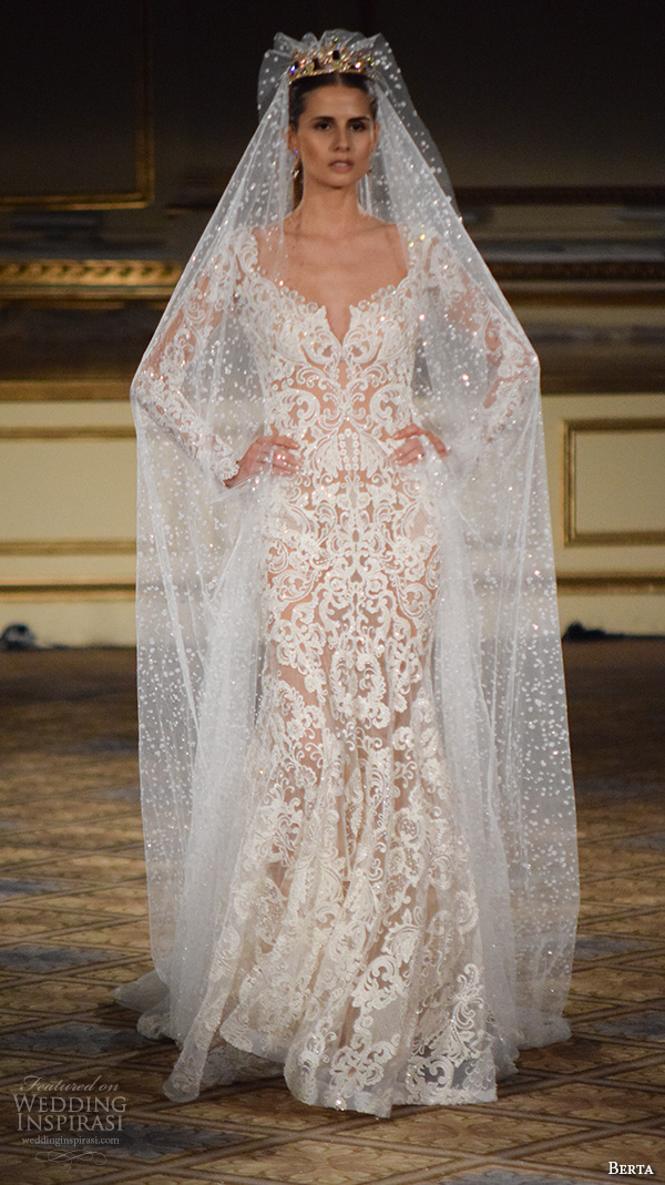 Wedding Dress Gemach New York : Fall new york bridal fashion week gorgeous mermaid wedding dress