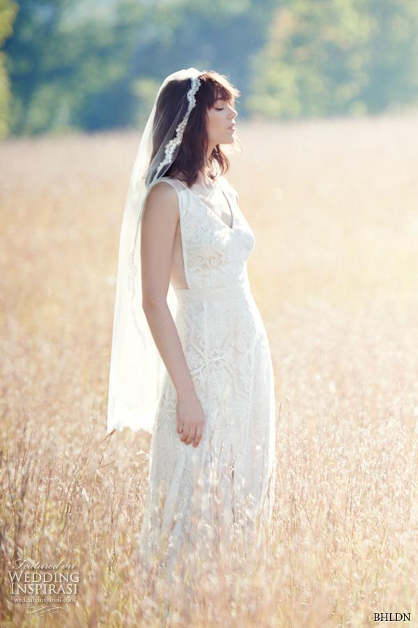 bhldn fall 2016 bridal dresses beautiful sheath wedding dress thick straps v neckline lace embroidery sleeveless style pendleton