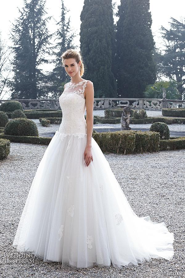 Gorgeous Drop Waist Wedding Dresses