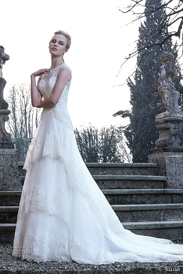 Layered Wedding Dress With Sleeves : Wedding dresses bambu bridal collection part inspirasi