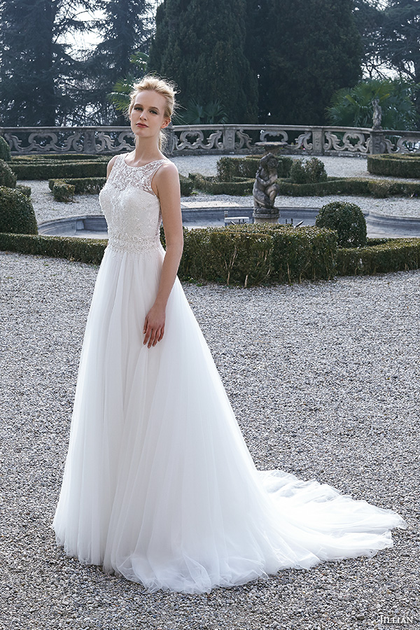 Jillian 2016 wedding dresses bambu bridal collection for A line skirt wedding dress