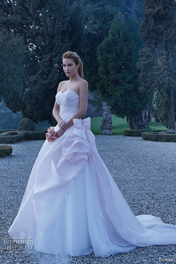 Blue Colored Wedding Dresses 23 Awesome jillian bridal gowns strapless