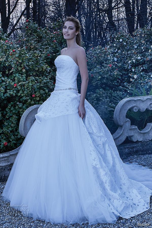 Butterfly Wedding Gown 95 Spectacular jillian bridal gowns strapless