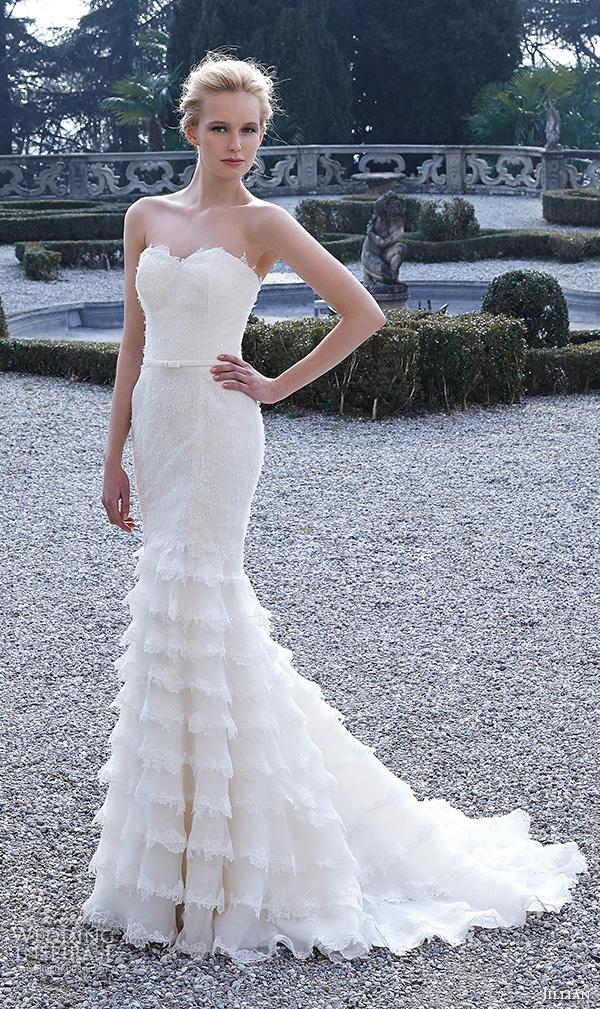 Sweetheart Neckline Mermaid Style Wedding Dresses 6 Fabulous jillian bridal gowns strapless