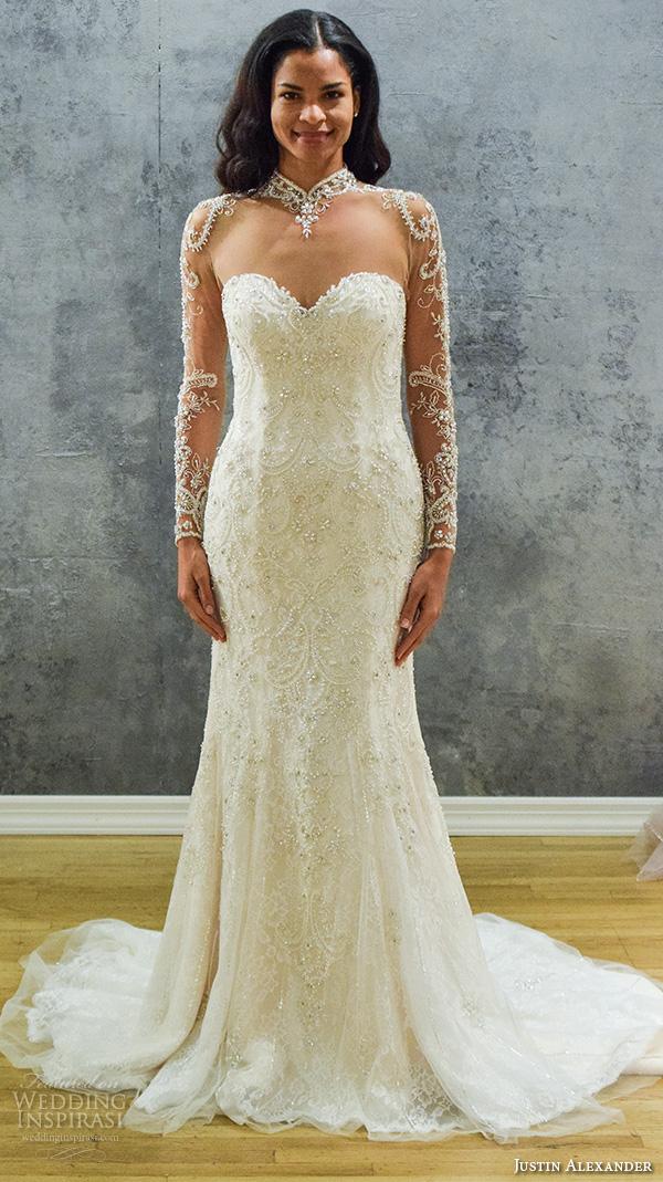 Exotic Wedding Dress 46 Superb justin alexander new york