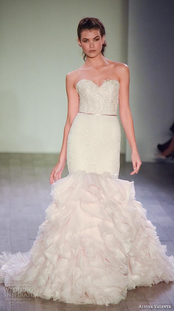 Ruffled Wedding Gowns 95 Awesome lazaro fall bridal fashion