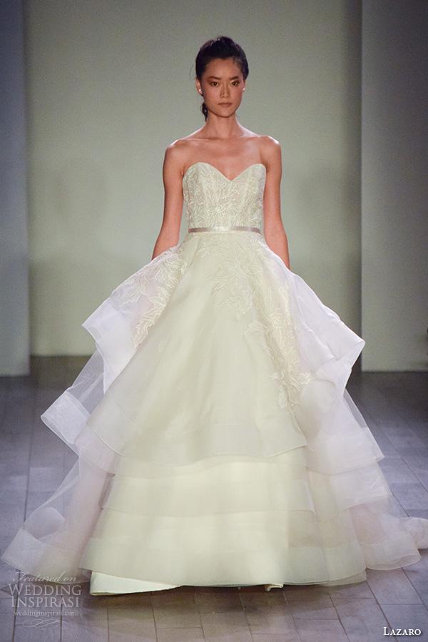 Lazaro Wedding Dresses Website 54 Ideal lazaro fall bridal fashion