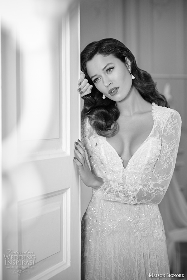 Black Lace Wedding Dresses 78 Best maison signore bridal gowns