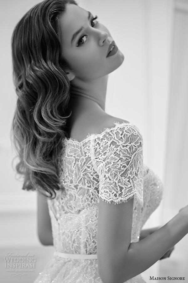 showroom lace long sleeve short wedding dresses