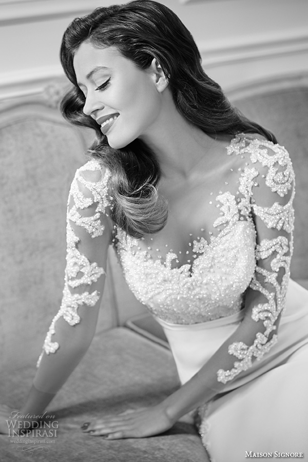 Wedding Gowns For Brides Over 40 90 Amazing maison signore bridal gowns