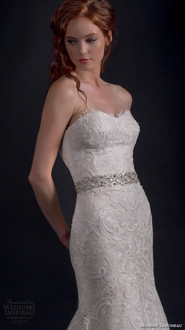 Mermaid Wedding Dresses With Lace 89 Vintage modern trousseau fall bridal