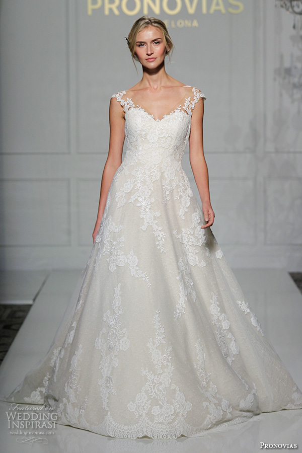 Pronovias 2016 Wedding Dresses — New York Bridal Runway Show ...