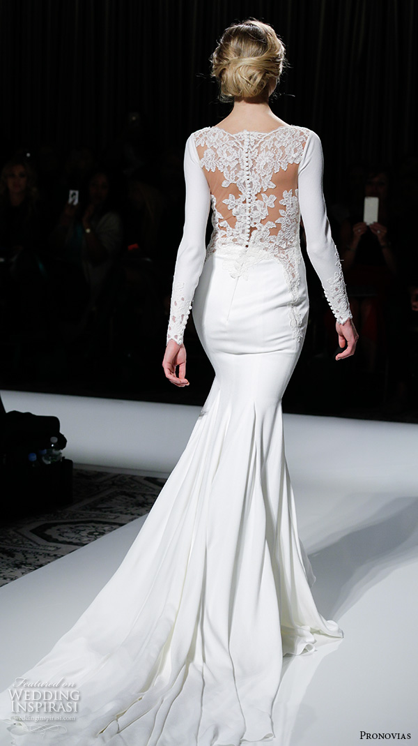 pronovias 2016 wedding dresses  u2014 new york bridal runway show