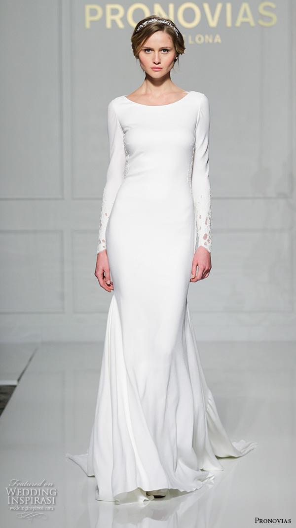 23d89222a5d Pronovias 2016 Wedding Dresses — New York Bridal Runway Show ...