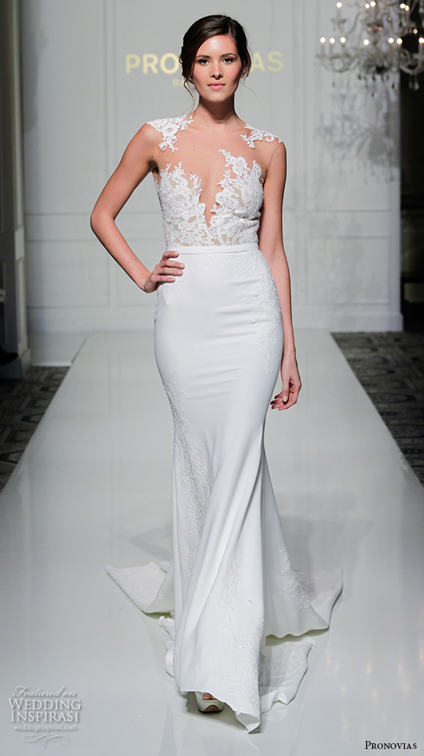 Pronovias 2016 wedding dresses new york bridal runway for Wedding dress boutiques in nyc