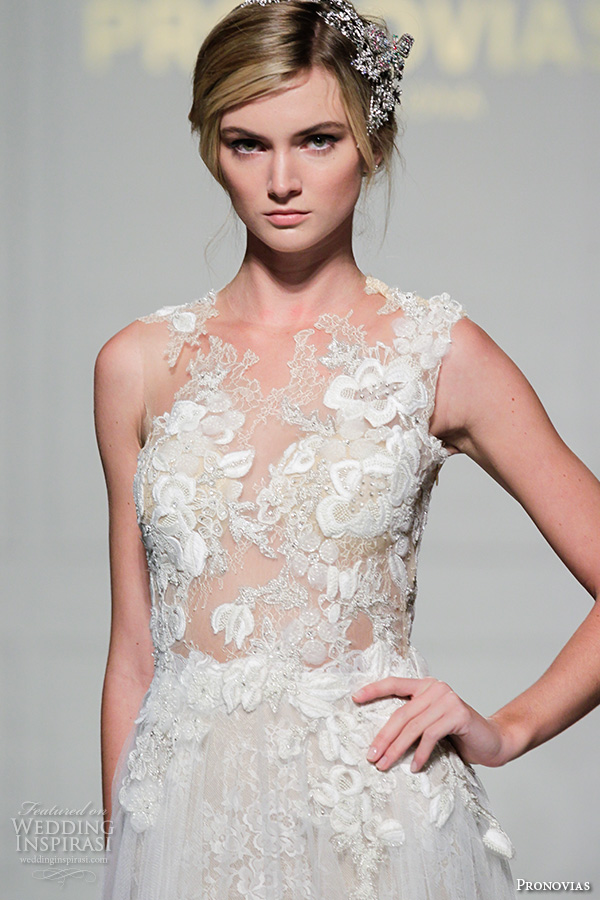 Pronovias 2016 wedding dresses new york bridal runway for Most sexy wedding dresses