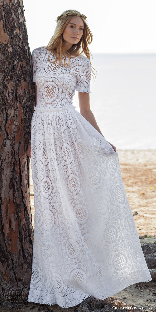 Christos Costarellos Spring 2016 Wedding Dresses | Wedding ...