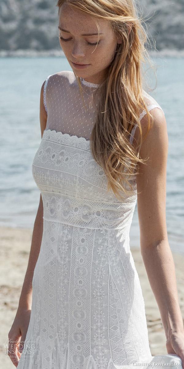 Bohemian Lace Wedding Dresses 95 Epic christos costarellos bridal spring